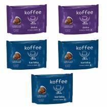 50 Cápsulas Para  Nespresso - Degustação Café - Cápsula Koffee -