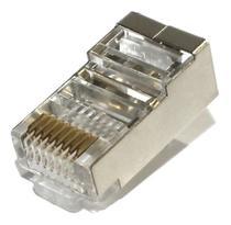 50 conectores rj45 cat6 blindado - Madmak