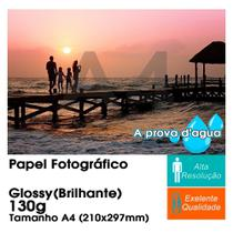 50 Folhas A4 Papel Foto Glossy Brilhante 130g Sem adesivo - Bestchoice