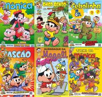 50 GIBIS  TURMA da MÔNICA  SEM REPETIÇÃO - Editora  Panini