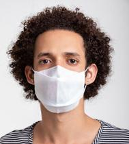 50 Máscaras Descartáveis Com Clip Nasal - Entrega Imediata - Flex