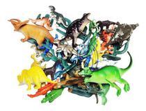50 Peças Dinossauro De Borracha Miniatura Pequena Festa - Ausini