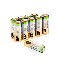 50 Pilhas Bateria 23A 12V A23 Alcalina GP Super (Bulk) 1 cx -