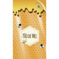 50 Sacos Poli Transp. 10X14Cm Pao De Mel - Cromus