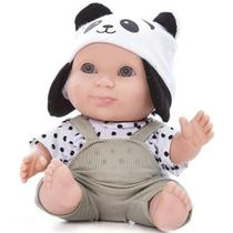 5u Boneco Bebê Menino Infantil Baby Bichinhos Panda Bee Toy - Beetoys