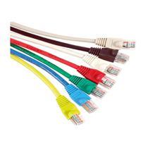 5x Patch Cord 2,5 Mts Cat5e Utp Internet Injetado Fábrica - Paralelo