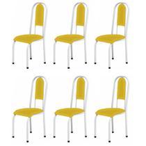 6 Cadeiras Para Cozinha Sem A Mesa de Ferro 122 BA 4 6 Com - Marcheli