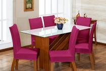 6 Capas Para Cadeira Jantar Com Elástico Linda - Bastille Store
