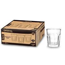 6 Copo Tequila Shot Dose Whisk Cachaça Vidro 50ml -0882 - Original Line