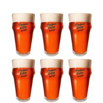 6 Copos De Cerveja Brahma Extra Red Lager 400ml - Ambev