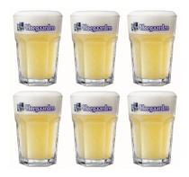 6 Copos De Cerveja Hoegaarden 400ml - Embalagem Individual - Ambev