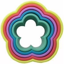 6 cortadores formato flor - Zanline