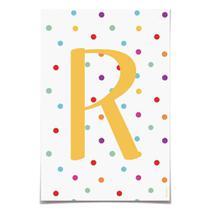 6 Letras R P/Faixa Decorativa Colore Dec. Festas - Cromus