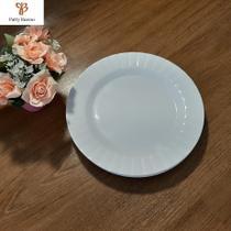 6 pratos sobremesa redondo em melamina plástico resistente de 20 cm color - ART HOUSE