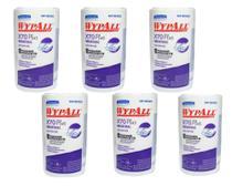 6 Rolo de Pano Multiuso para Limpeza Wiper Wypall X70 Plus C/88 Folhas Melhor que Perfex -