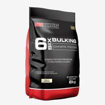 6 Six Bulking Gainers Protein 6kg Baunilha  Bodybuilders -