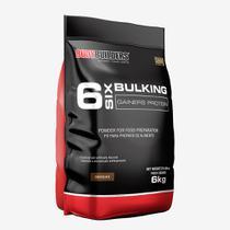 6 Six Bulking Gainers Protein 6kg Chocolate  Bodybuilders -