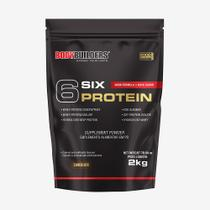 6 Six Protein 2kg Chocolate  Bodybuilders -