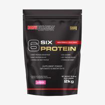 6 Six Protein 2kg Morango  Bodybuilders -