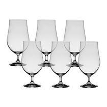 6 Taças De Cristal Para Cerveja Artois 380 ml Linha Forum Bohemia Cristal -