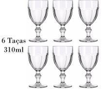 6 Taças de Vinho e Água Country 310ml - Libbey -