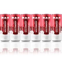 6x Max Energy 269ml - Energético - Max Titanium -