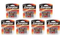 7 Cartelas De Pilha Alcalina AAA 1,5v Max Energizer -