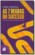 7 regras do sucesso, as - Senac -