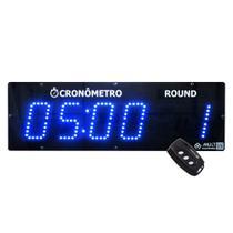 700.000727.000 - Cronômetro Digital Regressivo e Progressivo Multeletronic Com Controle Azul -