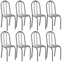 8 Cadeiras Para Cozinha Sem A Mesa De Ferro 50 C Pbl 4 6 Com - Artefamol