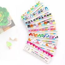 8 Cartelas - Adesivos Coloridos Removíveis Marcador De Livro - Neoimp