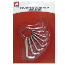 8 Mini Chave Allen Pra apertar Parafusos Porcas Multiuso Boa - Barcelona
