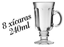 8 Xícaras Country 240ml - Dolce Gusto Caneca Nespresso - Libbey