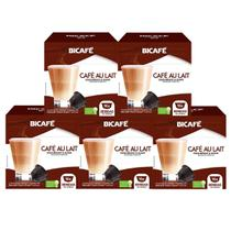 80 Cápsulas Para Dolce Gusto - Kit Café Au Lait - Cápsula Bicafé -