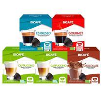 80 Cápsulas Para Dolce Gusto - Kit Delicioso - Cápsula Bicafé -