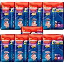 9 Pacotes: Fralda Roupinha Huggies Supreme Xg Jumbo 9x14 - Kimberly Clark Ind Com Prod Higiene