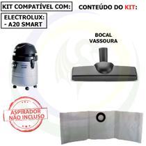 9 Saco +1 Bocal Vassoura para Aspirador de Pó Electrolux A20 Smart A20bc -