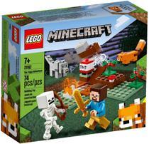 A Aventura em Taiga - Lego Minecraft 21162 -