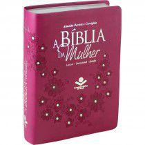 A Bíblia Da Mulher - Rc - Media - Vinho, Luxo - Editora Sbb -