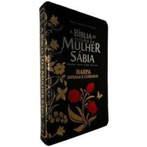 A Bíblia De Estudo Da Mulher Sábia C/ Harpa Avivada e Corinhos - Cpp