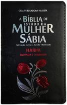A Bíblia de Estudo da Mulher Sábia - Tulipa - Casa Publicadora Paulista -
