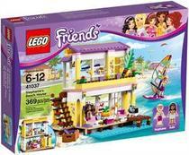 A casa da praia da stephanie - Lego