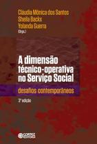 A Dimensão Técnico-Operativa No Serviço Social - 3ª Ed. 2017 - Cortez
