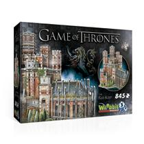 A Game of Thrones Puzzle 3D 845 Pçs  The Red Keep - Galápago - Galapagos