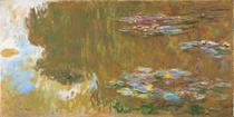 A Lagoa das Ninféias - Claude Monet - Tela 30x59 Para Quadro - Santhatela