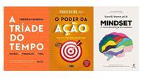 A Tríade Do Tempo + O Poder Da Ação + Mindset - Várias Editoras