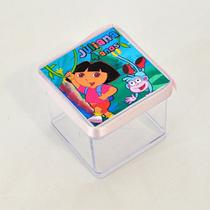 A1-Lembrancinha Caixa 4cm Dora Aventureira - Mz decoraçoes e festas