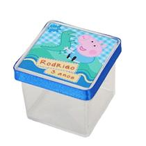 A1-Lembrancinha Caixa 4cm George Pig - Vem festejar