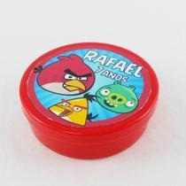 A1-Lembrancinha Latinha Angry Birds - Vem festejar