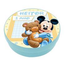 A1-Lembrancinha Latinha Disney Baby Mickey - Vem festejar